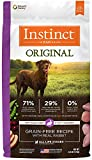 nature best dog food - Instinct Original Grain Free Recipe with Real Rabbit Natural Dry Dog Food by Nature's Variety, 4 lb. Bag