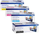 Brother Reseller TN310BK. TN310C. TN310M. TN310Y OEM Toner Cartridge Set