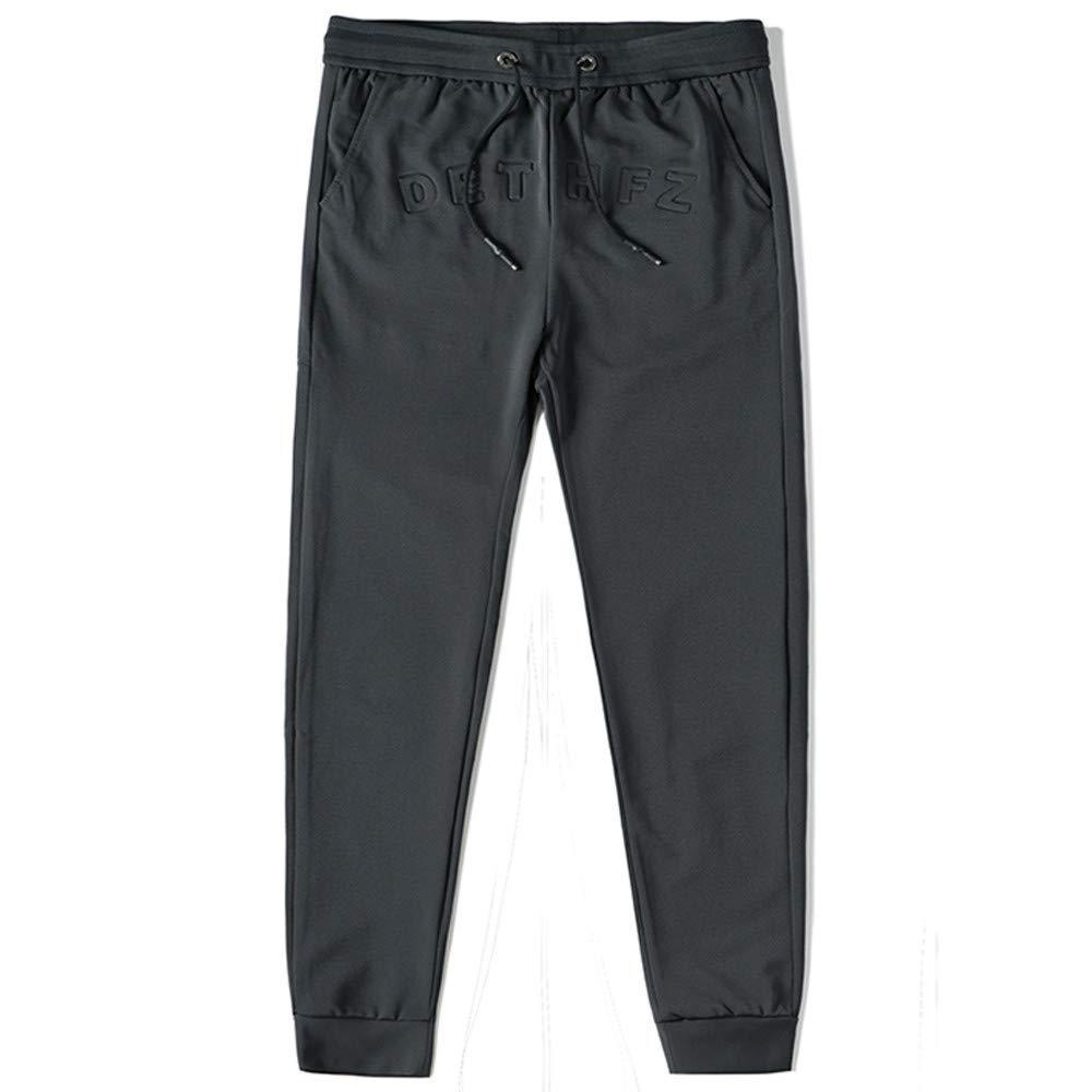 Winter Men Sweatpants Hot Sale Fashion Pure Color Casual Frenulum Pants Sports Long Pants