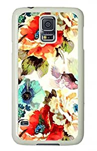 DIY Hard Plastic Shell Case Protector for Samsung Galaxy S5 Vintage Butterfly Art Printed on Case Cover for Samsung Galaxy S5