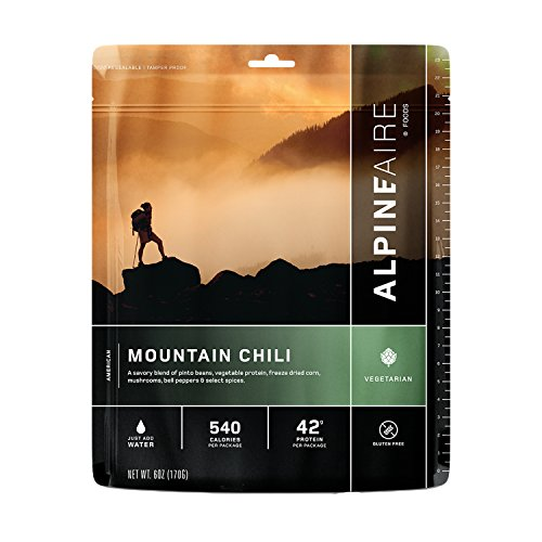 - Alpine Aire Foods Mountain Chili (Serves 2)