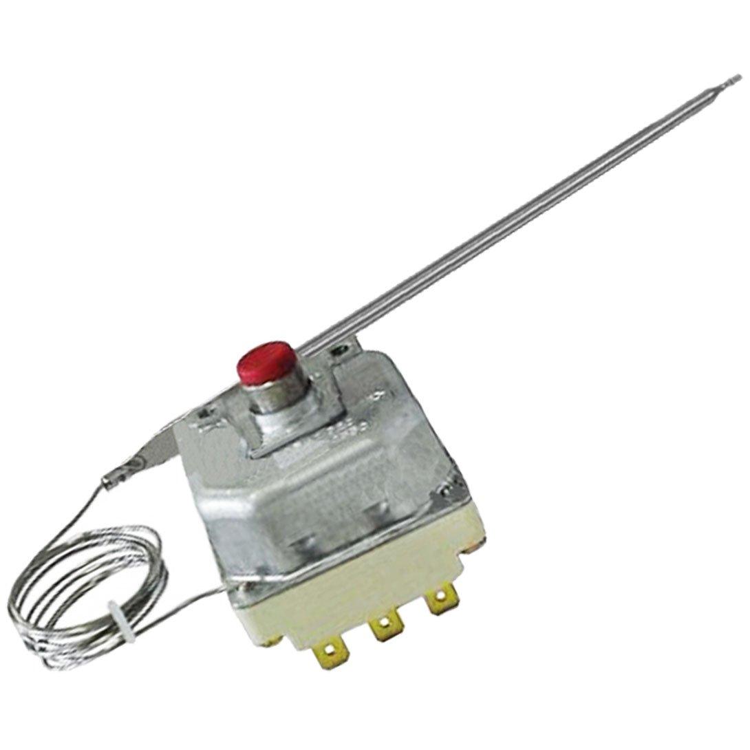 Termostato limitador Spares2go con 3 polos, temperatura máxima de 225 °C, con botón de reinicio y para freidoras industriales Lincat: Amazon.es: Hogar