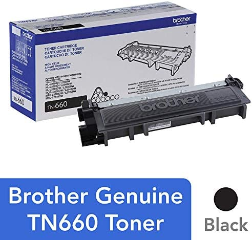 Amazon.com: Brother HL L2380DW High Yield Black Toner (2600 ...