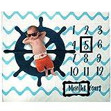 Baby Monthly Milestone Photo Blanket