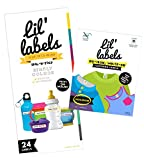 Lil' Labels Daycare Value Pack Bottle and Clothing Labels, Waterproof, Highlighter