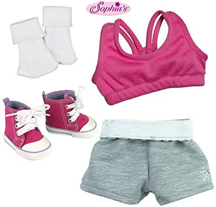 """Peace Sign Pant Set Fits 18/"""" American Girl Doll Clothes"""