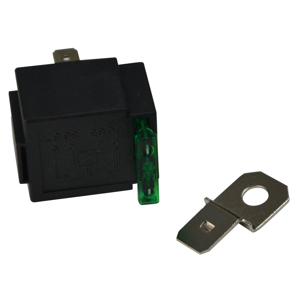 2er-Pack Ehdis Fused Relais Ein//Aus-12V 30A Automotive 4-Pin Sicherung Montagesockel Sockel SPST Metall Normally Open Auto Motor Automobile