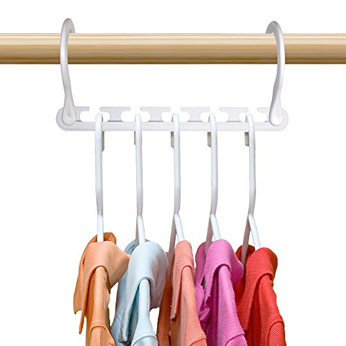 Wonder Hanger Max NEW & IMPROVED, Pack of 24-3x the Closet Space for Easy, Effortless, Wrinkle-free Clothes, Comes Fully Assembled, Grey - bedroomdesign.us
