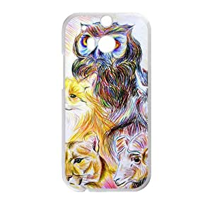 Animal Painting Bestselling Hot Seller High Quality Case Cove Hard Case For HTC M8