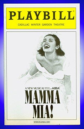 Mamma Mia, Broadway playbill + John Dossett , David Beach , Lauren Mufson , Judy - Beach Broadway