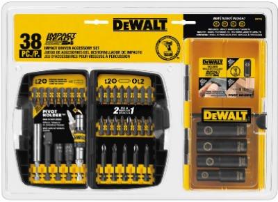 Dewalt Screw 38 Pieces Impact Ready Accessory Set