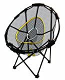 "Attentions Golfer's: sharpen your skills with the ultimate folding chipping basket This collapsible chipping net goes from a 23"" diameter frame into a 7 "" diameter. It features 3 chipping baskets for the ultimate challenge, and it is great pr..."