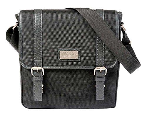 istic Vertical Messenger, Full-Grain Leather Trim RBN22015 ()