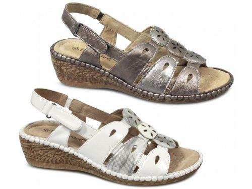 Boulevard - Zapatos destalonados de material sintético mujer - Pewter/Bronze