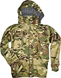 Genuine Military Extreme Cold Weather Level 6 Rain Parka, Scorpion (OCP), Made In USA (X-Large Long)