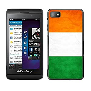 LJF phone case Shell-Star ( National Flag Series-Ivory Coast ) Snap On Hard Protective Case For BackBerry Z10