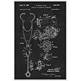 Stethoscope Poster Print - Medical - Doctor - Doctors Office - Physician Wall Art - Nurse Gift