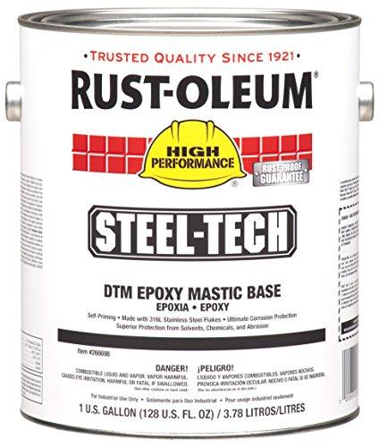 High Performance Epoxy : Rust oleum high performance steel tech epoxy mastic