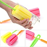 Sponge Cup Brush,G-real Kitchen Cleaning Tool Bottle Coffe Tea Glass Cup Mug Sponge Cleaning Washing
