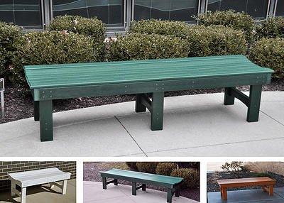 JP Recycled Plastic Garden Bench