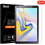 [2 Pack] JBAO Direct Samsung Galaxy Tab A 8.0 2018 SM-T387 Screen Protector, [Anti-Scratch][Ultra Clear][No Bubble][Anti-Fingerprint][High Clarity] 9H Hardness Tempered Glass for Samsung Galaxy Tab A