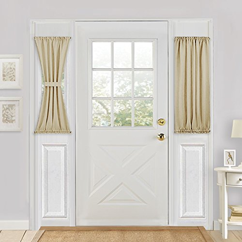 40 inch long door curtain panels - 7