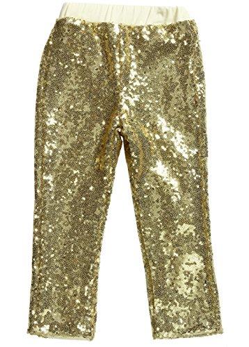 Girls Gold Sequin - 7