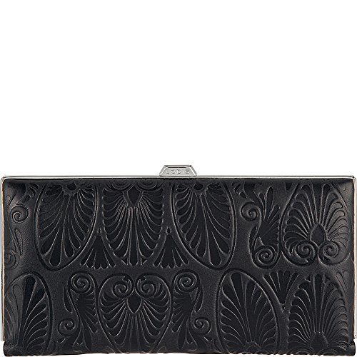 Lodis Accessories Women's Denia Quinn Clutch Wallet Black Wallets by Lodis