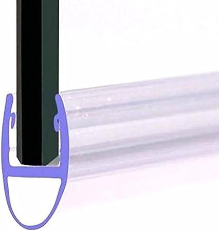 Home Standard® - Sello para mampara de Ducha (Grosor de Cristal de 4 a 6 mm, Altura del Sello: 7 mm, Hueco para sellar, 6 mm): Amazon.es: Hogar