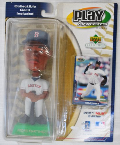 Pedro Martinez UD Playmakers Boston Red Sox Bobblehead ()