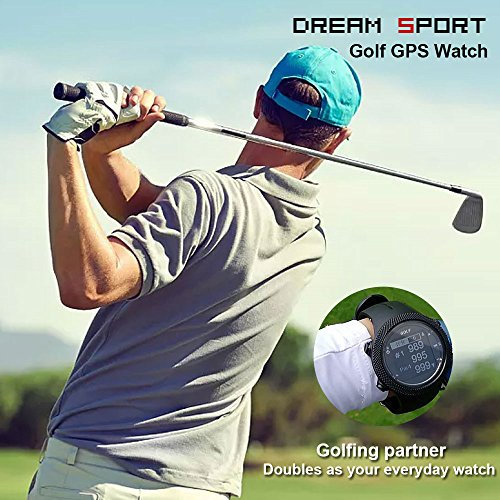 dreamsport Golf GPS Watch DGF301 new generation (Black) by dreamsport (Image #3)
