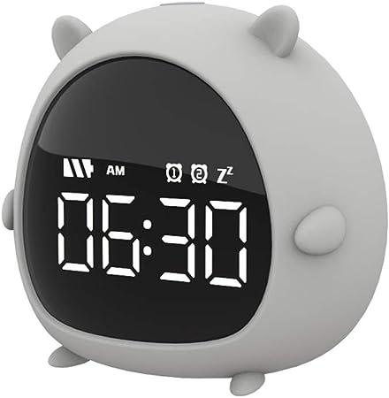 TBYGG Kid Clock Réveil Enfant Educatif JourNuit