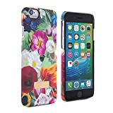 Official TED BAKER® SS16 iPhone 6 / 6S Case ? Hard Shell Back Case / Cover in Flower Design for Women / Girls, Protective Snap on Back Case for Apple iPhone 6S and iPhone 6- Floral Swirl