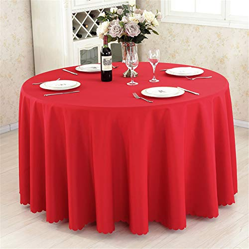 wrgfhb Tablecloth Rectangular Round Camping Table Hotel Party Wedding Tablecloth Table and Coffee Table Cover C 160x160cm