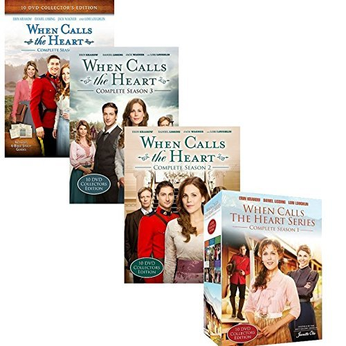 When Calls the Heart Seasons 1, 2, 3, 4 Complete Set
