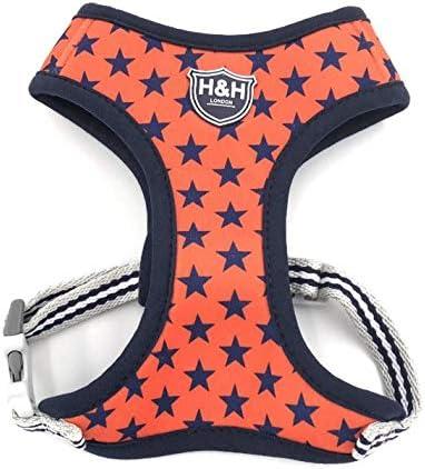 HUGO /& HUDSON Dog Harness Printed Fabric