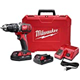 """Milwaukee M18 Compact 1/2"""" Hammer Drill/Driver Kit (2607-22CT)"""
