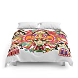 Society6 Mexican Dolls Comforters Full: 79'' x 79''