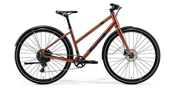 Unbekannt Mujer bicicleta 28 pulgadas – Merida Crossway Urban 300 Lady Cross Bike – SRAM NX 11 desviador, color matt kupfer (metallic braun), tamaño 46 cm, tamaño de rueda 28.00: Amazon.es: Deportes y aire libre