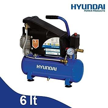 Compresor 6lt. ad Aceite Hyundai - 65602: Amazon.es: Bricolaje y herramientas