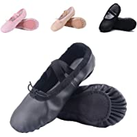Amazon Price History for:Ruqiji Leather Ballet Shoes for Girls/Toddlers/Kids/Women, Full Sole Leather Ballet Slippers/Dance Shoes