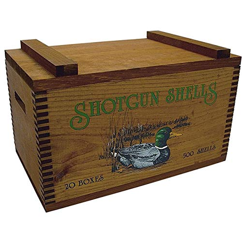 Evans Sports Deluxe Ammo Box, Ducks Shots Shells
