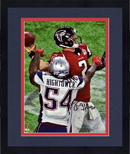 Framed Donta Hightower New England Patriots Autographed 8  X 10  Super Bowl Li Champions Action Photograph   Fanatics Authentic Certified