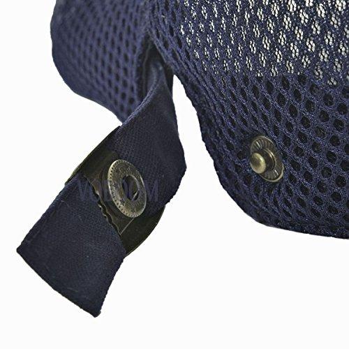 VOBOOM Men Breathable mesh Summer Hat Newsboy Beret Ivy Cap Cabbie Flat Cap