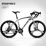 JXH-26-Pollici-Bicicletta-della-Strada-27-Connessione-Biciclette-Doppio-Disco-Freno-Acciaio-al-Carbonio-Telaio-Strada-Biciclette-da-Corsa-e-Le-Donne-degli-UominiBianca