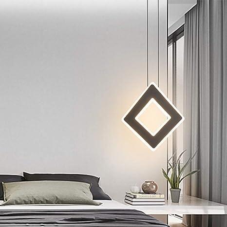 Diseño LED Lámpara Colgante Contador Sala de Estar Moderno Araña ...