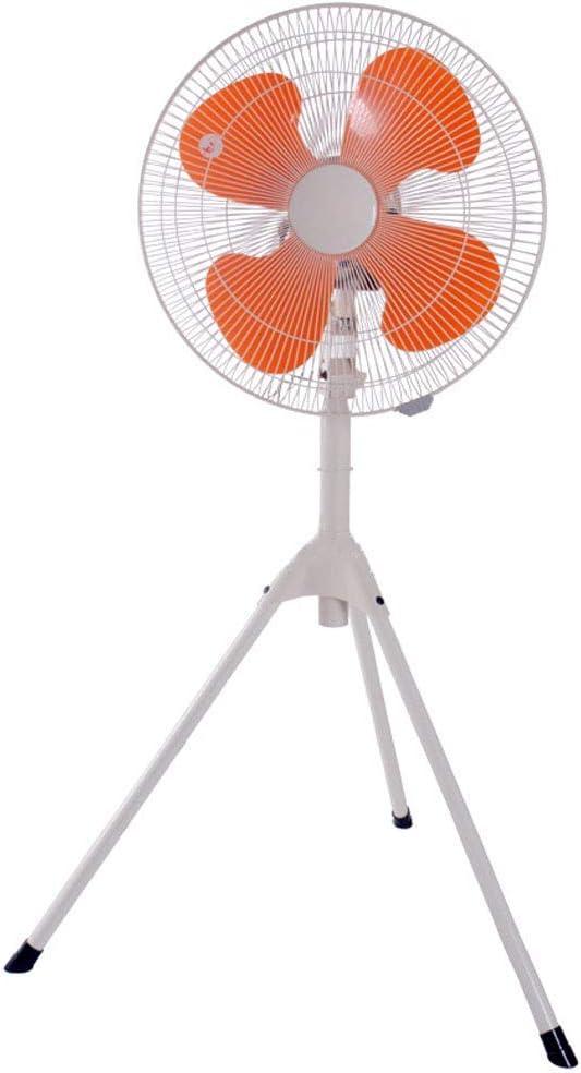 KMMK Home Electric Fan,Industrial Pedestal Fan Floor Fan Cooling Oscillation Portable Quiet Pedestal Stand High Performanc Tripod Fan, 3 Speed Settings Heavy Duty