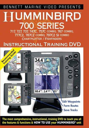 Hummingbird Instructional Training DVD: 700 Series Fishfinder Instructional Dvd