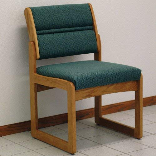 Wooden Mallet Sled-Base Valley Armless Guest Chair,, used for sale  Delivered anywhere in USA