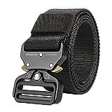 Best Clip Belts - KingMoore Men's Tactical Belt Heavy Duty Webbing Belt Review